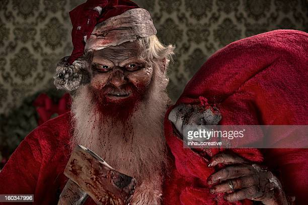 Pictures of Real Santa Zombie with victims