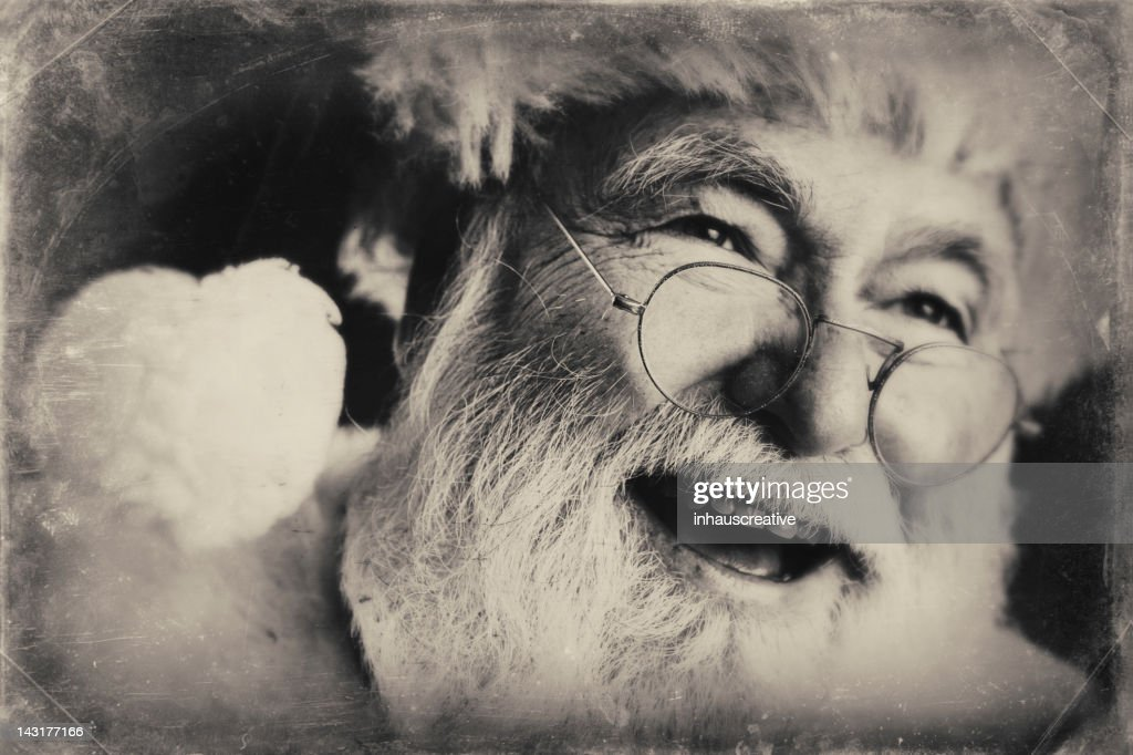 Pictures of Real Vintage Santa Claus : Stock Photo