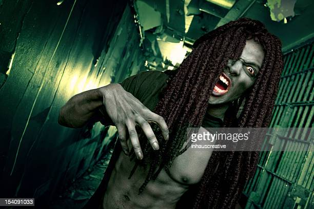 Pictures of Real Zombie Attack in Jail Cell Hallway