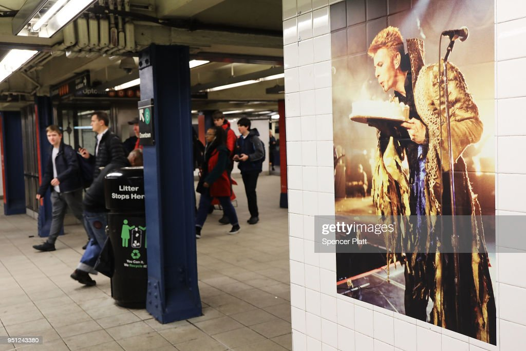 David Bowie Installation Takes Over Manhattan Subway Station