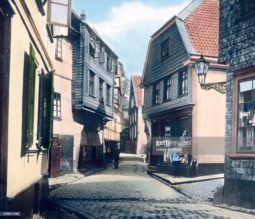 Hattingen, which is enclosed in the north and east of the Ruhr. : Foto jornalística