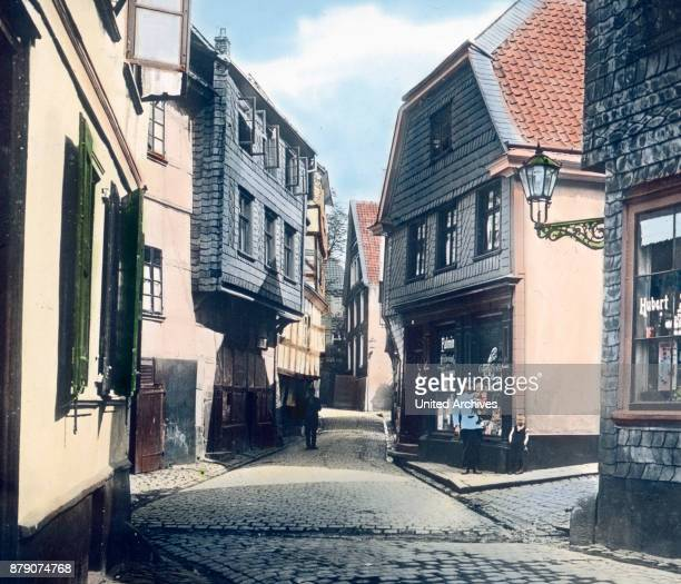 Picturesque ancient angle and the whole place Hattingen which is enclosed in the north and east of the Ruhr south of 700 acres of woodlands