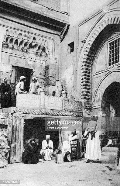 A picturesque corner of Cairo Egypt c1920s Plate taken From In the Land of the Pharaohs published by Lehnert Landrock