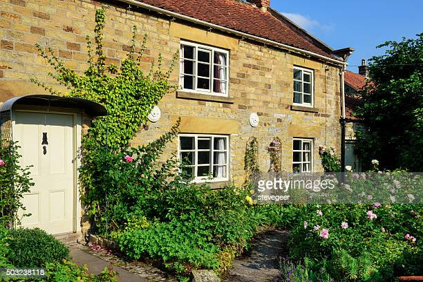 Picturesque cottage and garden, North Yorkshire