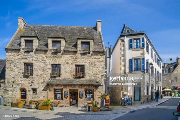 picturesque granite architecture Roscoff