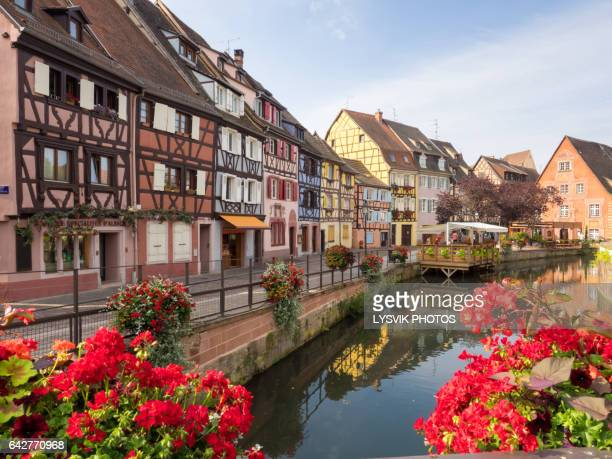 Picturesque view of Petite Venise, Colmar, Alsace