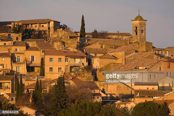 Picturesque Village of Chateauneuf Du Pape Vaucluse Paca Region South of France