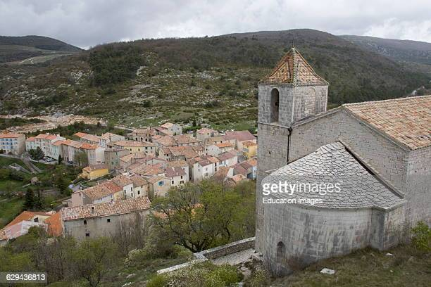 Picturesque Village of Comps Artuby Var Department South of France