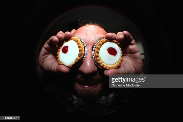 Pie eyed man
