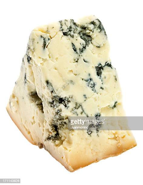 Piece of aged blue cheese