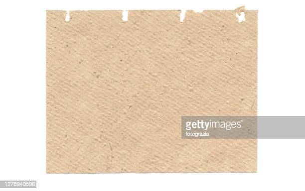 piece of beige notebook rough paper - brown stock pictures, royalty-free photos & images