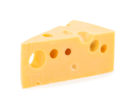 piece of cheese isolated 500454774