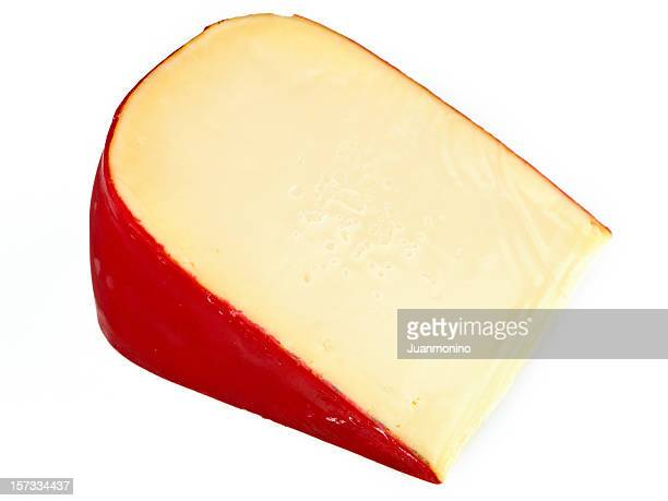 Piece of Dutch Gouda Cheese