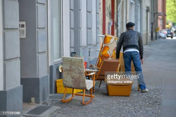 Piece of furniture junk dealer, Moabit, middle, Berlin, Germany, Mobel Trodler, Mitte, Germany.