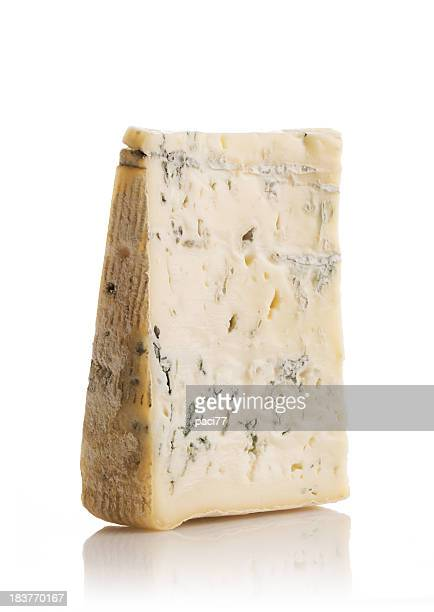 Piece of Gorgonzola Cheese (Clipping Path)