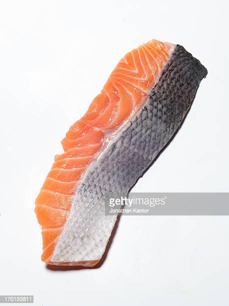 piece of salmon - 鮭料理 ストックフォトと画像