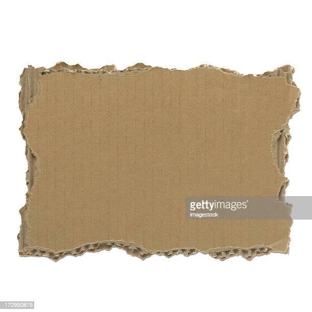 Stück zerrissenes Papier