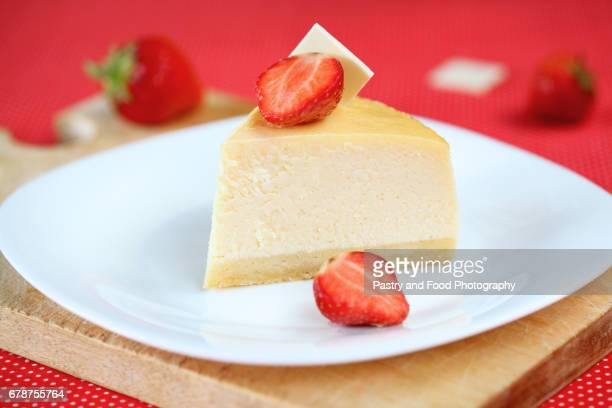 Piece of Vanilla Cheesecake