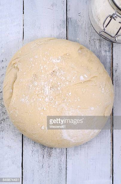 Piece of yeast dough
