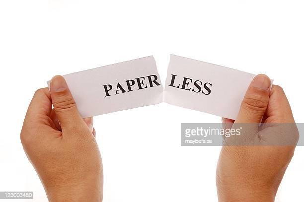 piece up the words paper and less together