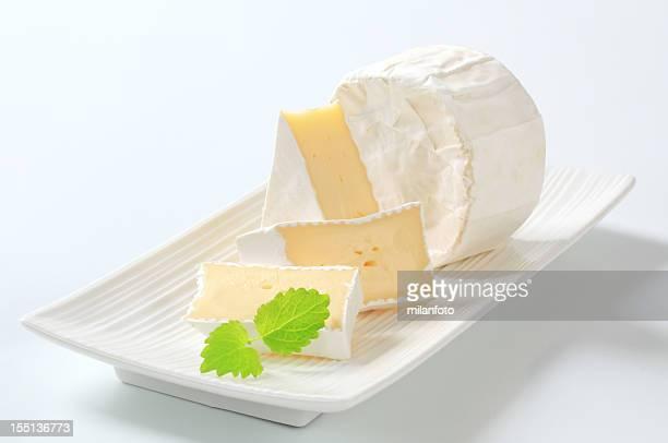 Stück Käse-Brie