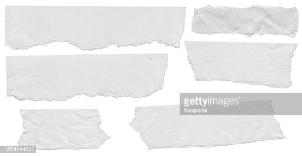 pieces of white paper on white background - label stock pictures, royalty-free photos & images