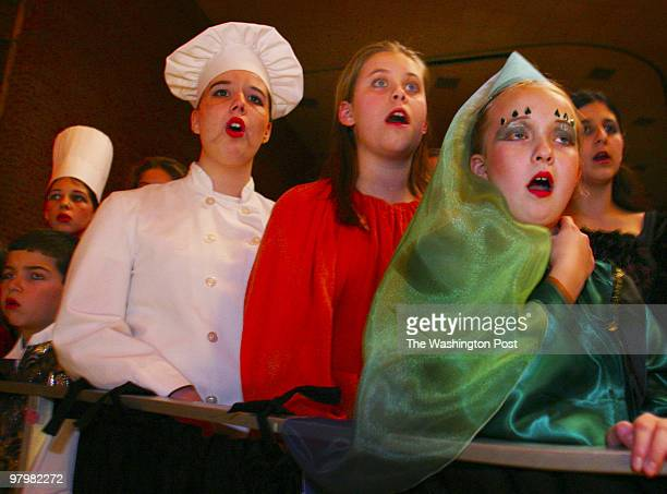 Pied Piper Theatre actors tuned up their performances at the final dress rehearsal before the cast presented 'Enchanted Sleeping Beauty' the first...