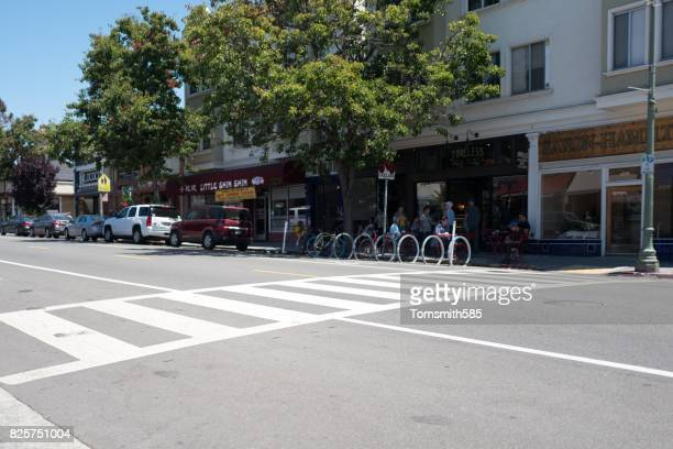 piedmont avenue - oakland california stock photos and pictures