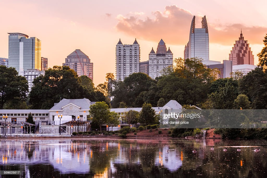 Piedmont Park, Atlanta, Georgia, America : Stock Photo