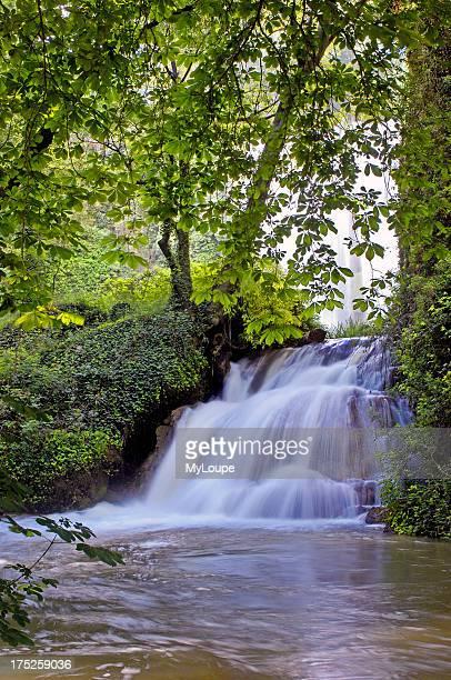 Piedra River Waterfall at Monasterio de Piedra Nuevalos Zaragoza province Aragon Spain