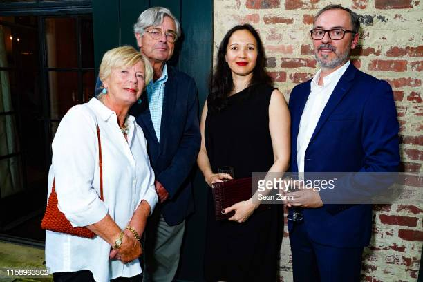 Pien Bosch and Hans Bosch Gina Wouters and David Almeida attend A Country House Gathering To Benefit Preservation Long Island on June 28 2019 in...