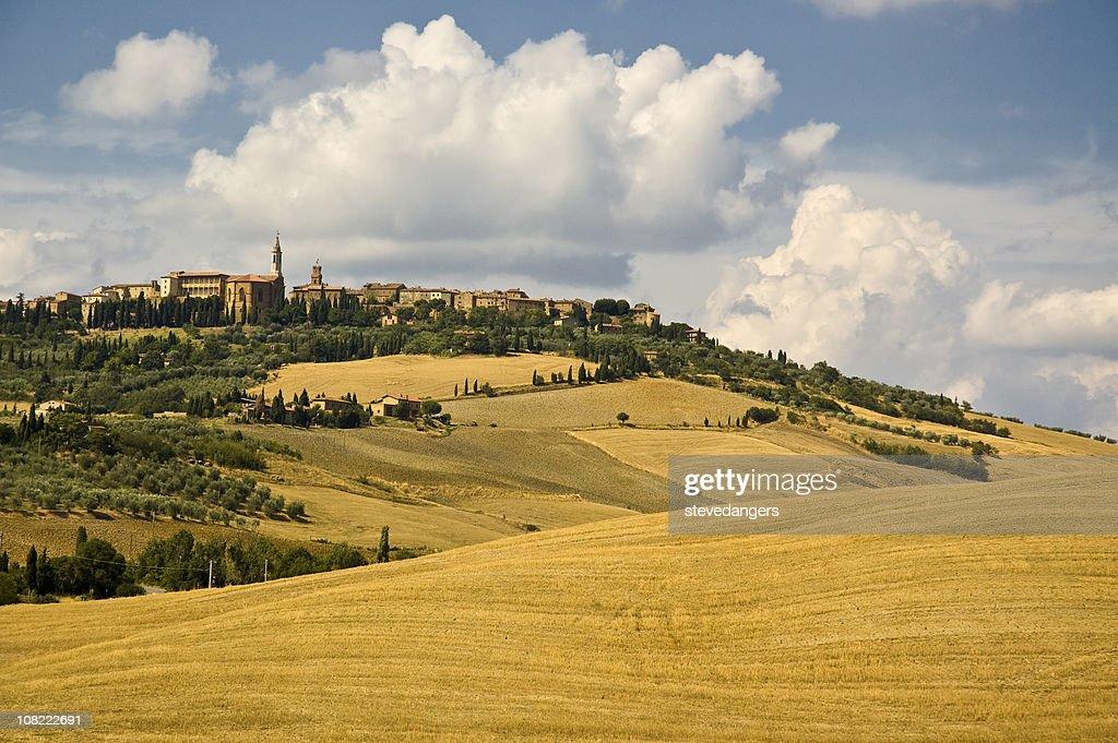 Pienza, Toscana, Italia : Foto stock