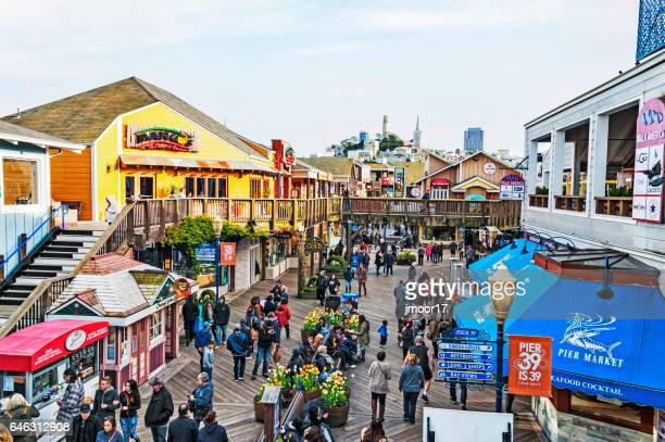 Pier 39 Views from Above and Iconic Views