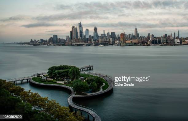 pier 6 hoboken new jersey - hoboken stock pictures, royalty-free photos & images