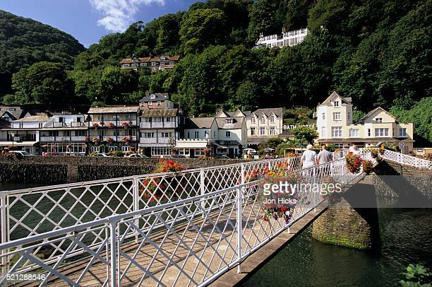 Pier and Town of Lynmouth