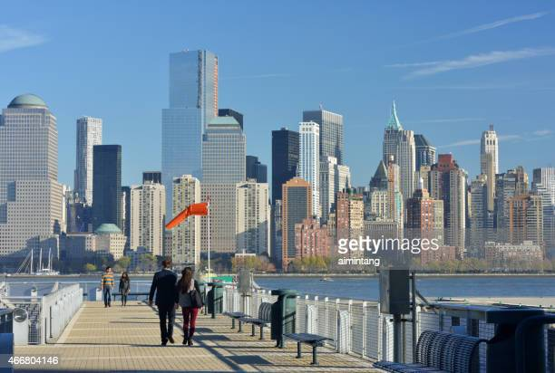 Pier in Jersey City