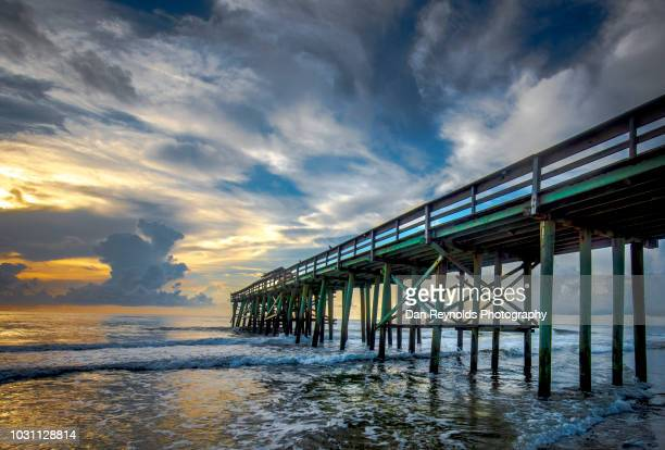 Pier at Sunrise with incoming tide