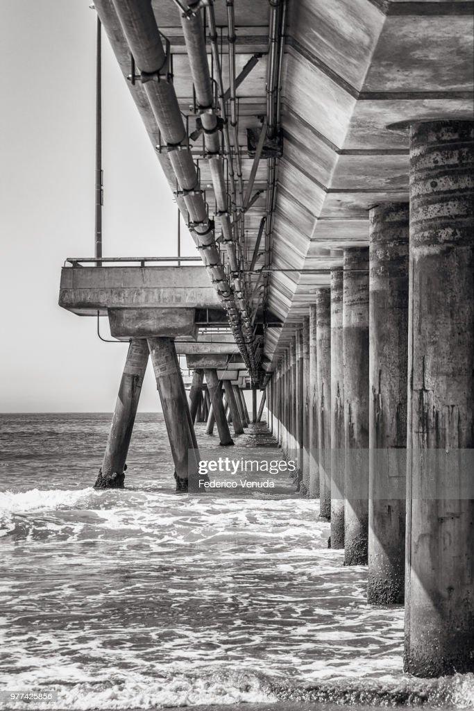 Pier at Venice Beach in California, USA. : Stock Photo