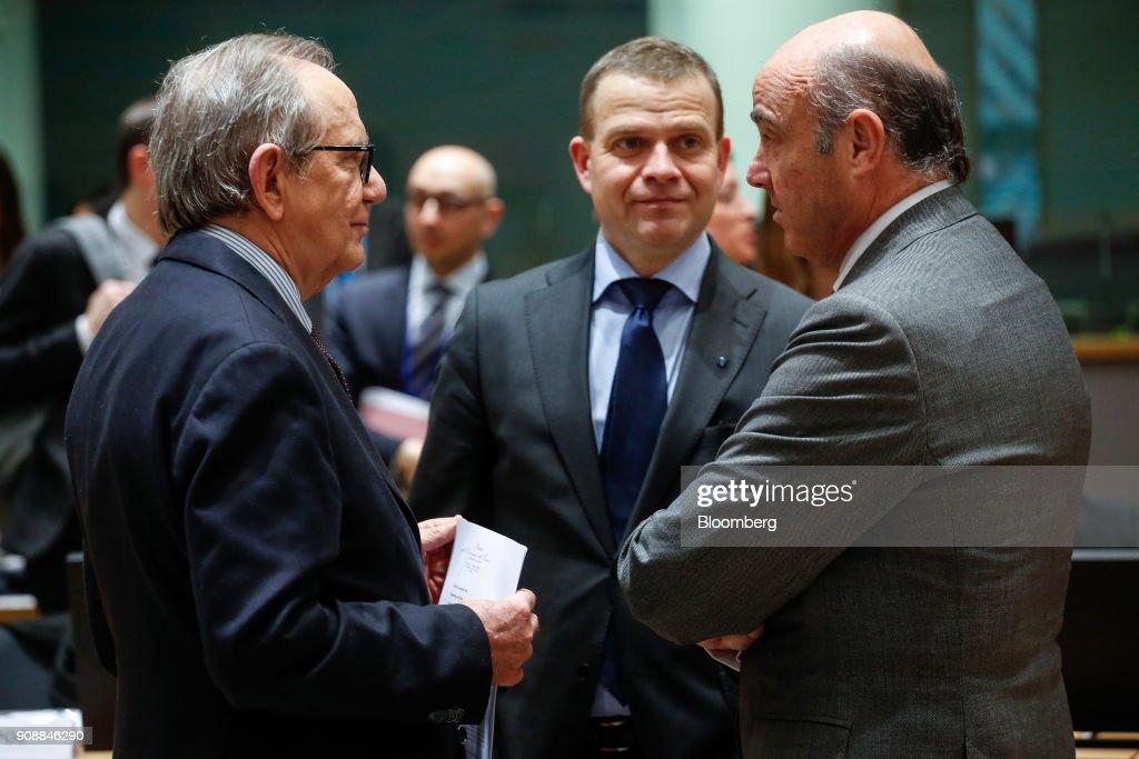 EU Finance Ministers Attend Eurogroup Meeting