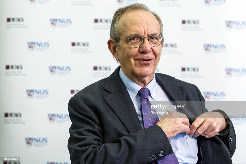 Italy's Minister of Finance Pier Carlo Padoan Interview