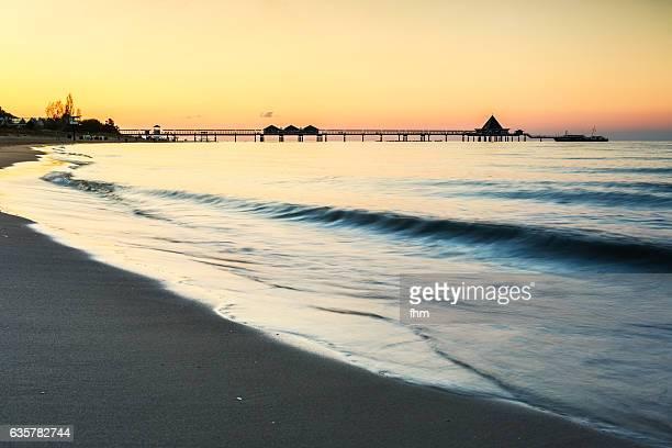 Pier Heringsdorf nice sunset (Usedom/ Mecklenburg-Vorpommern Germany)