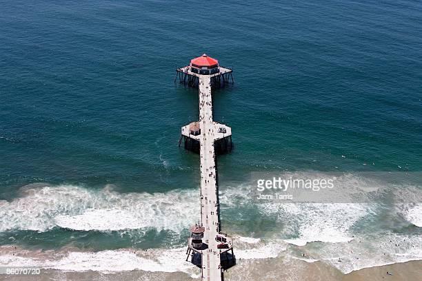 Pier in Huntington Beach, California