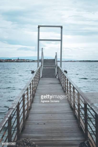 Pier in Mandriola