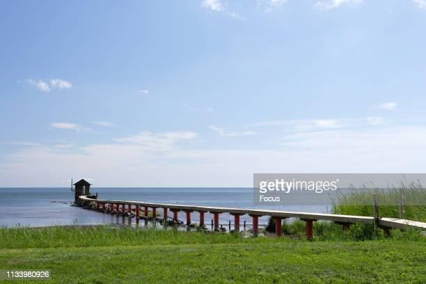 A Pier in Sirve Saar Saaremaa
