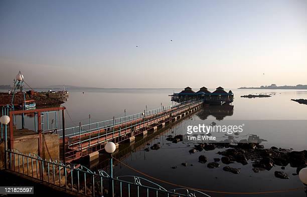 Pier, Lake Tana, Bahir Dar, Ethiopia, Africa