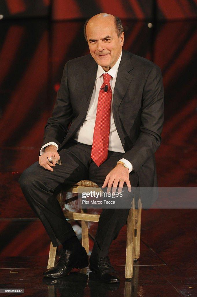 'Che Tempo Che Fa' Italian TV Show - November 26, 2012