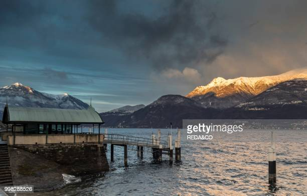 Pier of the Lariana navigation Bellano Loake Como Lombardia Italy Europe Photo by Carlo Borlenghi/REDACO/Universal Images Group via Getty Images