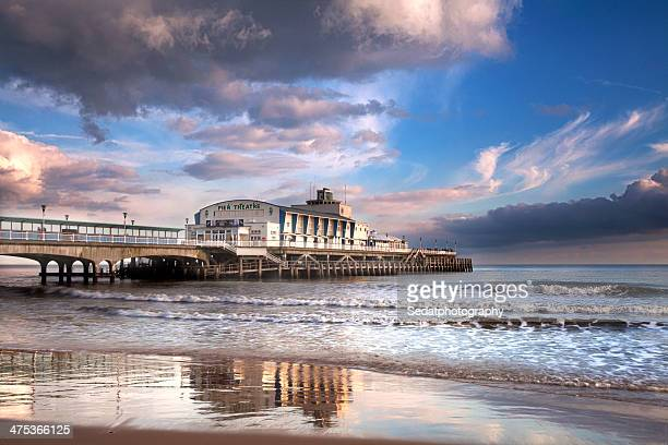 pier - bournemouth england stock pictures, royalty-free photos & images