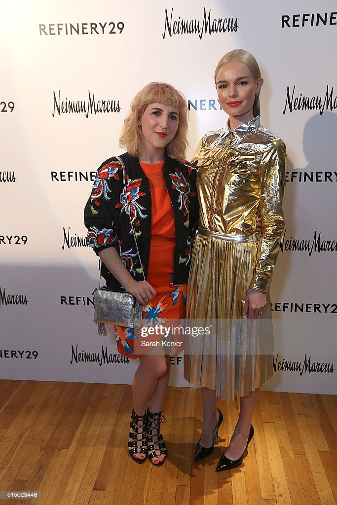 Piera Gelardi and actress Kate Bosworth attend Refinery29's School of Self Expression opening night party presented by Neiman Marcus during SXSW on March 11, 2016 in Austin, Texas.