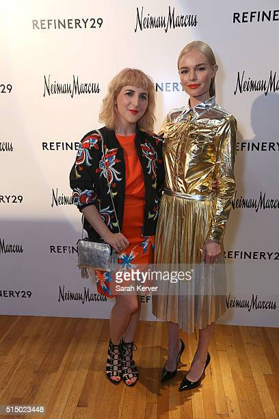 Piera Gelardi and actress Kate Bosworth attend Refinery29's School of Self Expression opening night party presented by Neiman Marcus during SXSW on...